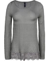 High Long Sleeve Sweater - Lyst