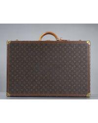 Louis Vuitton Preowned Monogram Canvas Alzer 70 Suitcase - Lyst
