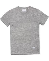 MKI Miyuki-Zoku | Grey Melange Slub T-shirt | Lyst