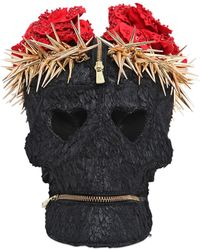 Manish Arora - Faux Fur Skull Clutch With Crown - Lyst