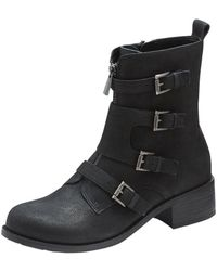 Vince Camuto Black Wesli Boot - Lyst