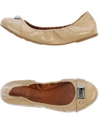 Marc By Marc Jacobs Beige Ballet Flats - Lyst