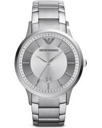 Emporio Armani 3-hand Monochromatic Watch 43mm - Lyst
