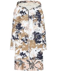 Rag & Bone Randi Printed Cotton Coat - Lyst