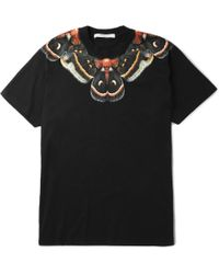Givenchy Printed Cotton-Jersey T-Shirt - Lyst