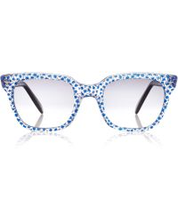 Sheriff & Cherry - Blue Marco G11 Double Star Wayfarer Sunglasses - Lyst