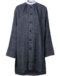 Dosa Single Breasted Coat - Lyst