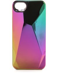 Marc By Marc Jacobs Faceted Iphone 5  5s Case - White - Lyst