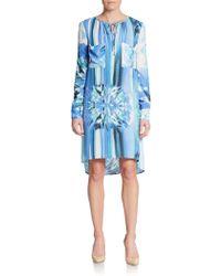 BCBGMAXAZRIA Darell Print Shift Dress - Lyst
