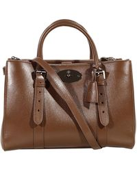 Mulberry Bayswater Double Zip Classic Calf - Lyst