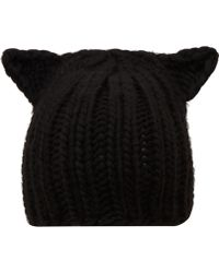 Eugenia Kim Black Felix Cat Ears Beanie Hat - Lyst