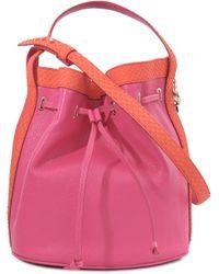 Corto Moltedo Bucket Bag - Pink