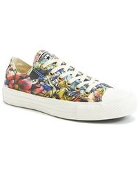 Converse Chuck Taylor All Star Floral-Print Sneakers - Lyst