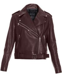 Proenza Schouler Ls Leather Biker Jacket - Lyst