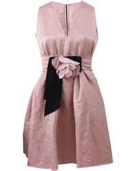 Lanvin Washed Duchesse Dress - Lyst