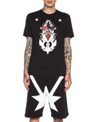 Givenchy Anchor Print T-Shirt - Lyst