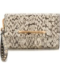 B Brian Atwood - Wristlet with Interior Mirror - Lyst