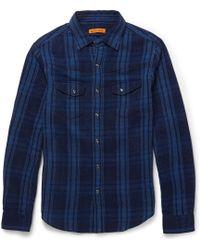 Alex Mill Check Wovencotton Shirt - Lyst