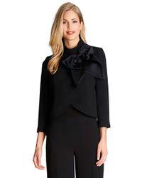 Cece by Cynthia Steffe - Bow Collar Crop Jacket - Lyst