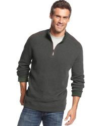 Tommy Bahama Big And Tall Flipster Reversible Half-Zip Pullover - Lyst