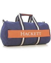 Hackett - Striped Web Duffle Bag - Lyst