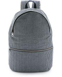 A.P.C. - Basic Backpack - Dark Navy - Lyst