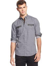 Guess Check-print Aidan Shirt - Lyst