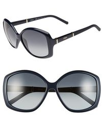 Chloé 'Daisy' 58Mm Sunglasses - Lyst