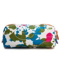 Marc By Marc Jacobs - Pretty Nylon Paint Blob Cosmetic Pouch Orange Multi - Lyst