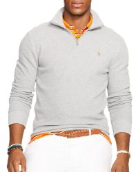 Ralph Lauren Polo Pima Half-Zip Pullover - Lyst
