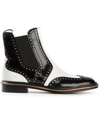 Marc By Marc Jacobs Punch Hole Detailing Boots - Lyst