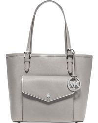 Michael Kors Michael Specchio Jet Set Medium Multifunction Tote - Lyst