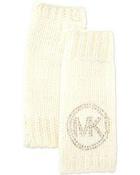MICHAEL Michael Kors - Knit Logo Armwarmer - Lyst