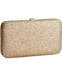 H&M Mobile Phone Clutch Bag - Metallic