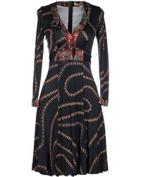 Issa Knee-Length Dress multicolor - Lyst