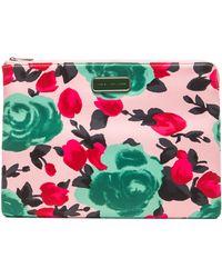 Marc By Marc Jacobs Jerrie Rose 13 Zip Cutout Case - Lyst