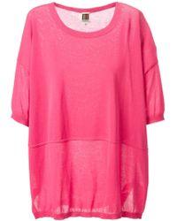Isola Marras Fine Knit Sweater - Pink