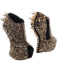 Giuseppe Zanotti Shoe Boots - Lyst