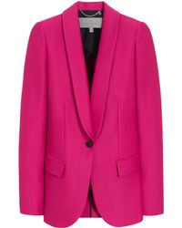 Mulberry Pink Tuxedo Jacket - Lyst