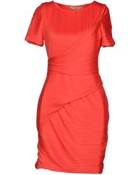 Halston Heritage Short Dress - Lyst