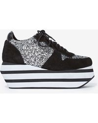 Nasty Gal Jeffrey Campbell Furious Suede Sneaker - Lyst