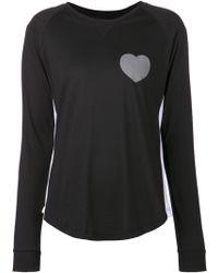 Zoe Karssen Heart T-shirt - Lyst
