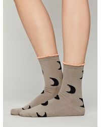 Hansel From Basel Goodnight Moon Ankle Sock - Lyst