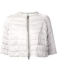 Transit Cropped Quilted Jacket - Lyst