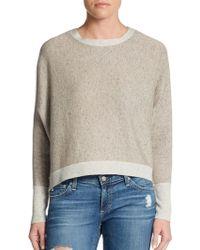Michael Stars Ultrasoft Wool-Blend Cropped Sweater - Lyst