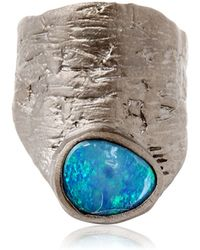Bjorg - Out Of The Blue Short Ring - Lyst
