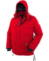 Canada Goose womens outlet 2016 - Canada goose Skreslet Parka in Red for Men | Lyst