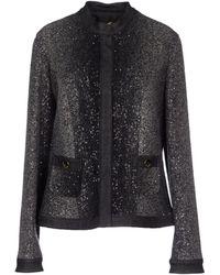 Blumarine Jacket gray - Lyst