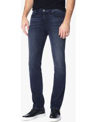 7 For All Mankind | Foolproof Denim: Slimmy Slim Straight In Alpha | Lyst