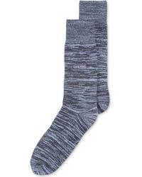 Calvin Klein Mens Flat Knot Heather Crew Socks - Lyst